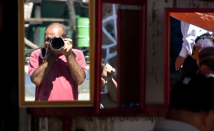 Specchi (autoritratto)