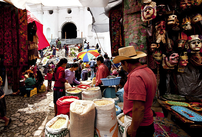 Mercato di Chichicastenango, Guatemala