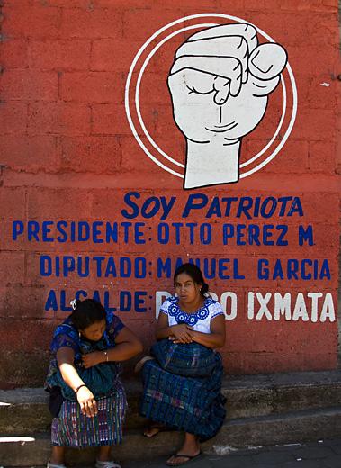 Murales politico, Guatemala