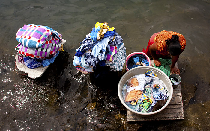 Panni al lago, Guatemala