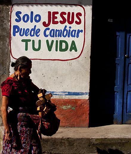 Scritte religiose, Guatemala