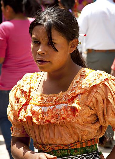 Signora, mercato in Guatemala