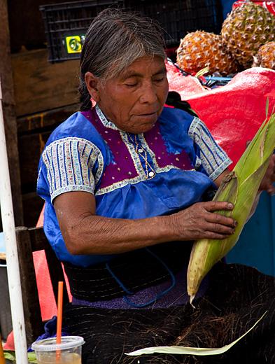 Vecchietta con spiga, Messico