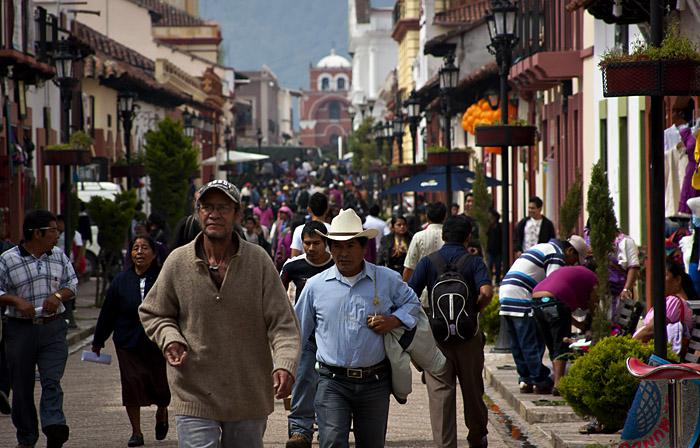 Strada, San Cristobal de las casas, Messico