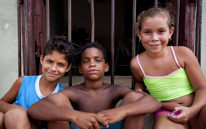 Bambini, Trinidad, Cuba