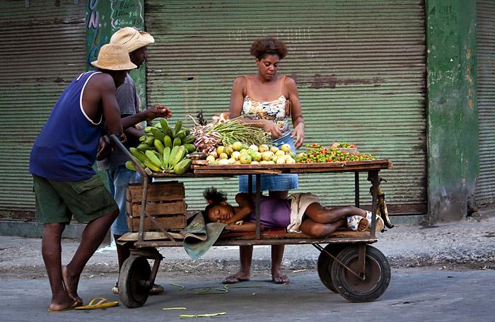 Carretto frutta, Havana, Cuba