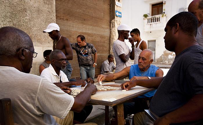 Giocatori di domino, Havana, Cuba