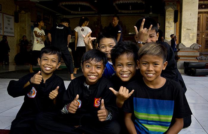 Ragazzi judo Indonesia
