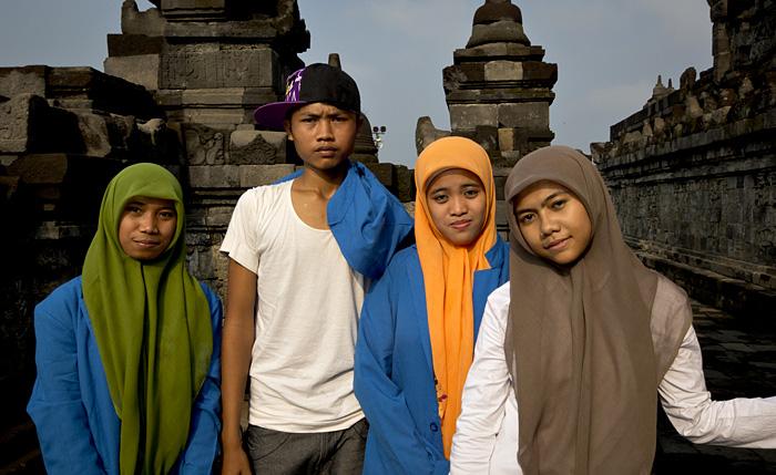 Ragazzi tempio