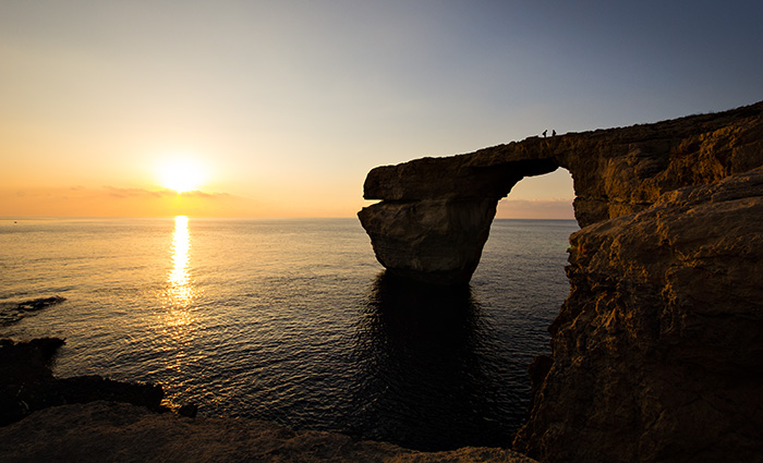 Malta dekaro diario - La finestra azzurra gozo ...