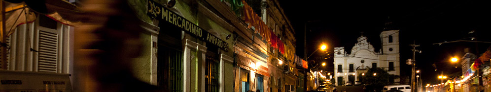 Olinda by night