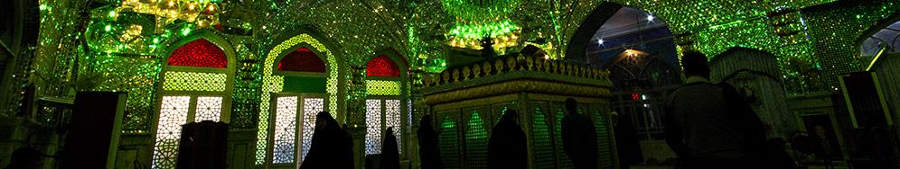 Shrine in Kashan